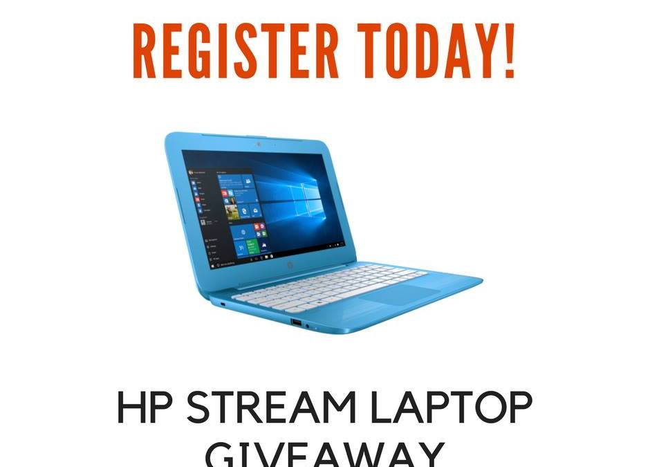 HP Stream Laptop Giveaway