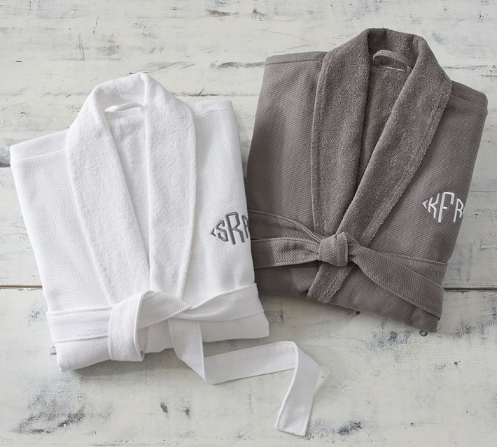 Organic Spa Robe by Pottery Barn