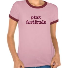 Pink Fortitude t-shirt