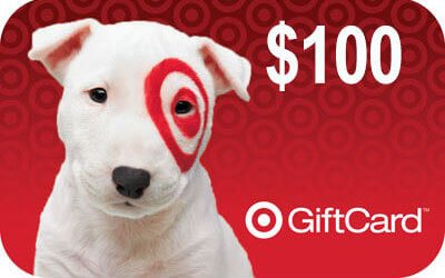 $100 Target Giveaway (Open Worldwide)