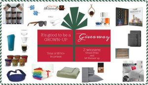 $725 Big Holiday Prize Giveaway