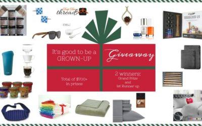 $725 Big Holiday Prize Giveaway
