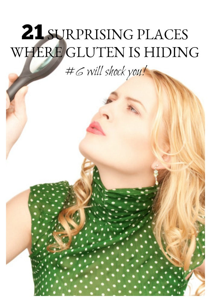 Whether you have Celiac Disease or a non-Celiac gluten sensitivity or are just trying to eliminate gluten from your diet, you have all of the basics down. You understand the sources of gluten and about cross-contamination. But did you know that gluten could be hiding in these 21 places? Trust me, #6 will surprise you!
