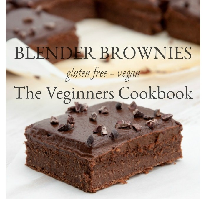 Blender Brownies – Gluten Free and Vegan