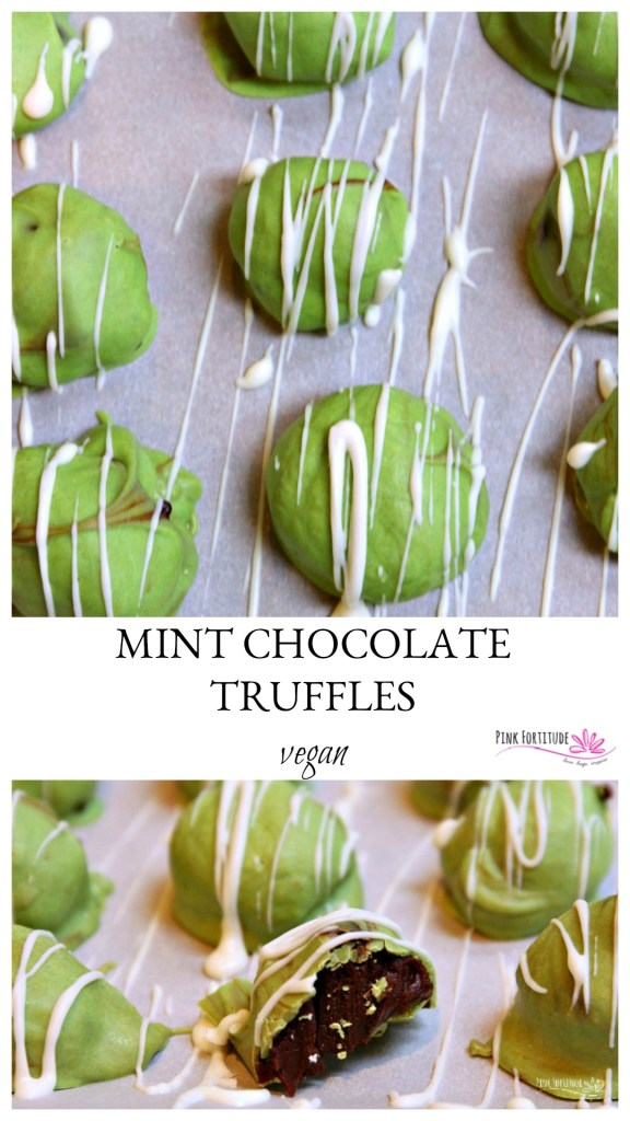 Chocolate truffles. They melt in your mouth. Mint chocolate truffles add a layer of extra yum. But what about those who are dairy free or vegan? Trust me when I tell you... these vegan truffles will rival those with cream. They melt in your mouth. They will leave you wanting more. And they fit in with your nutrition protocol.