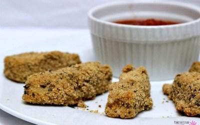 Mozzarella Sticks – Gluten Free and Vegan
