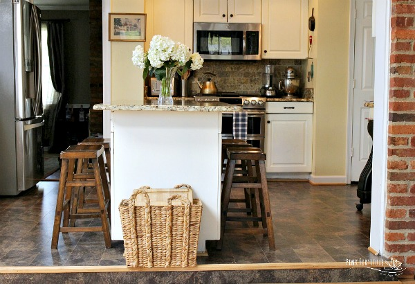Eco-Friendly Kitchen Floor Before and After