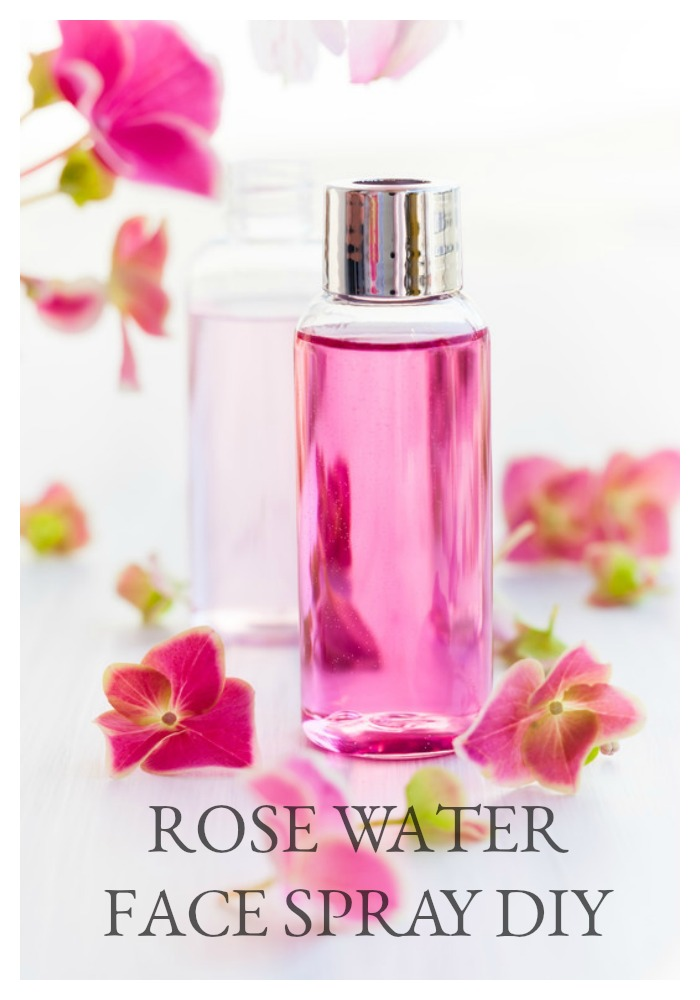 Rose water has been around since the days of Cleopatra. Yes, women FOR-EVER have been searching for beauty in the fountain of youth. If you are looking for an all-natural rose water face spray and toner to sooth your skin, this DIY is for you. It's also a perfect gift for Mother's Day, a teacher gift, or for a special friend. It's quick and easy, and perfect to keep in the fridge for a hot summer pick-me-up. Learn how to make it...