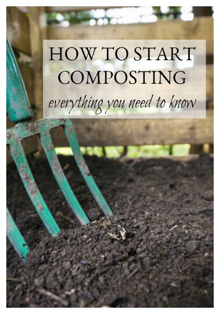 Scared to try composting? Not sure where to begin? We've compiled all of the information you need to know to get started. It's a little daunting at first, but trust me, it soon becomes second nature and in one year, your garden will be thanking you with a bountiful harvest. What are you waiting for? Let's start composting!