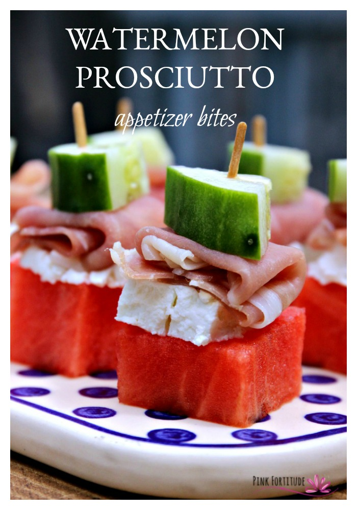 If you are looking for a summer appetizer that will wow your guests, these watermelon prosciutto appetizer bites are the perfect solution. They are easy to make and are sure to please. Enjoy the recipe!
