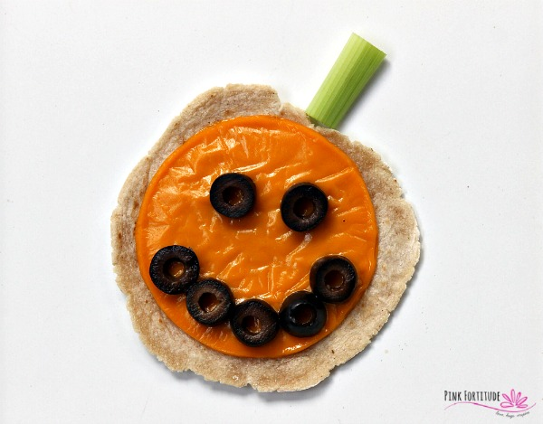 Halloween Tortilla Appetizer – Gluten Free and Vegan