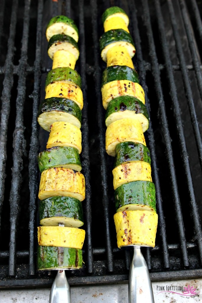 You know the dish. The one that takes just a few minutes to make, is crazy healthy, and is one of yourfamily's favorite? The one you are almost too embarrassed to gloat about because it's that easy? Yup. These zucchini and squash kabobs are easy to make, you can throw them on the grill, and they are also paleo and keto-approved. Be sure to make extra for leftovers. Add this recipe to your zucchini favorites!