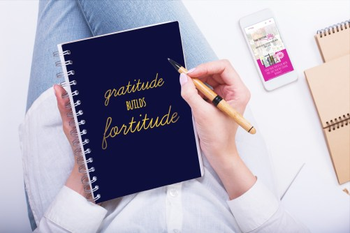 You want to be more grateful in life. Keeping a gratitude journal (even with a bullet journal) is a great way to practice this on a daily basis. But how do you know where to begin? How do you know what to write in your gratitude journal? It's easy, my friends, and this is all you need to do... #gratitudejournal #bulletjournal #bujo #pinkfortitude