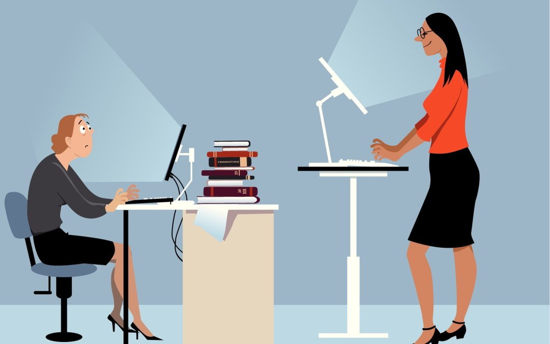 10 Benefits of Using a Standing Desk