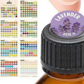 Labels for doTerra Bottle Caps