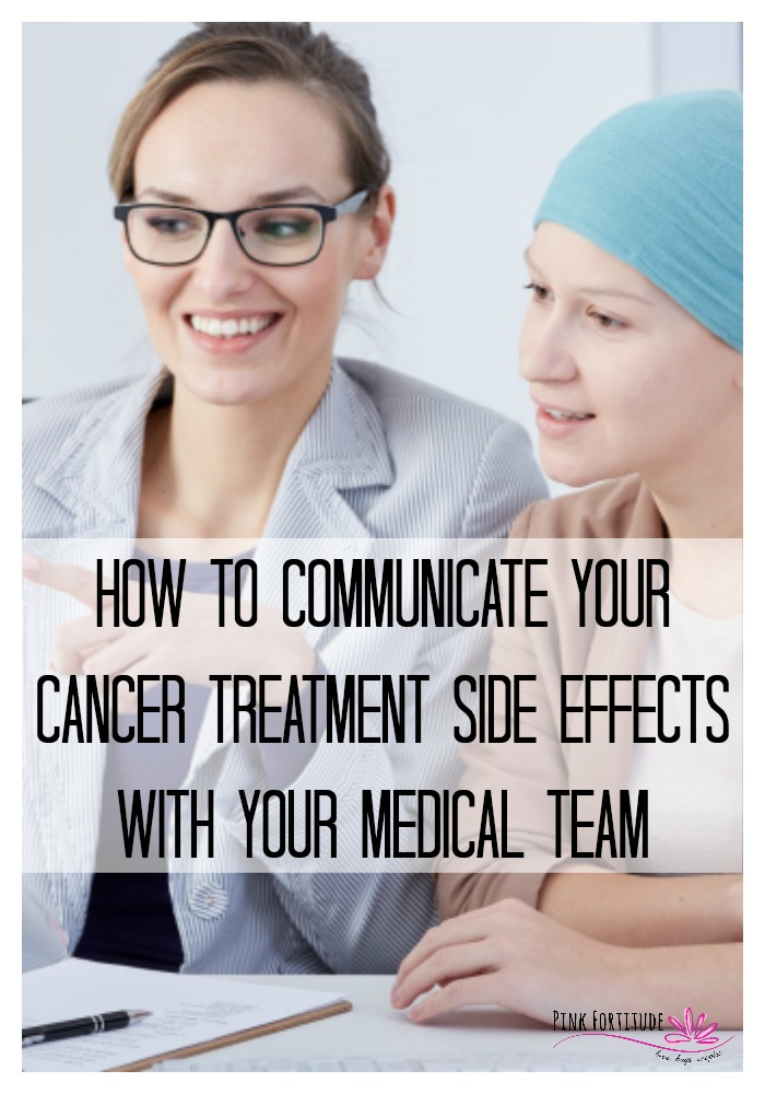 Alongside cancer treatment comes the bombardment of side effects, whether it's from surgery, chemotherapy, radiation, or medication. I'll discuss why reporting your side effects is important, strategies for tracking side effects, and how to know when to reach out to your care team.