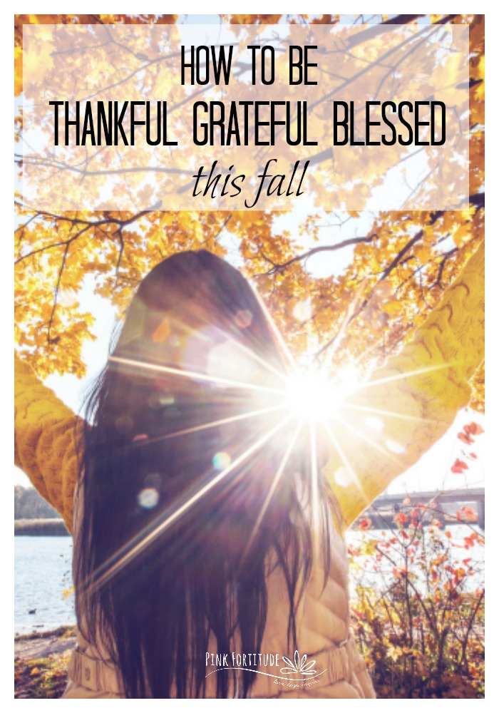 It's finally fall! The leaves are changing, the air is cooler, and there is pumpkin spice everywhere you go. We celebrate Thanksgiving and the season to be thankful. It's also a time to celebrate World Gratitude Day. But how? Here are some easy ways to be thankful grateful blessed this fall.