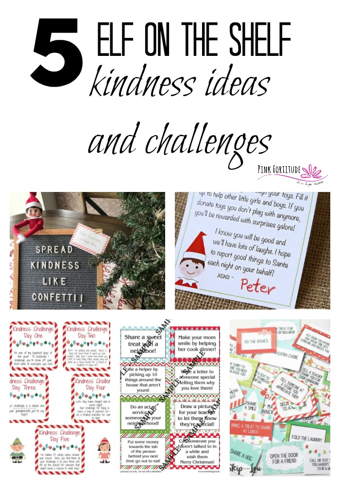 Are you looking for some alternative ideas for your Elf on the Shelf? Why not spread kindness with your children this holiday season! If you are looking for alternates to the traditional elf pranks, here are 5 great Elf on the Shelf ideas and challenges that will help to spread kindness all season long!