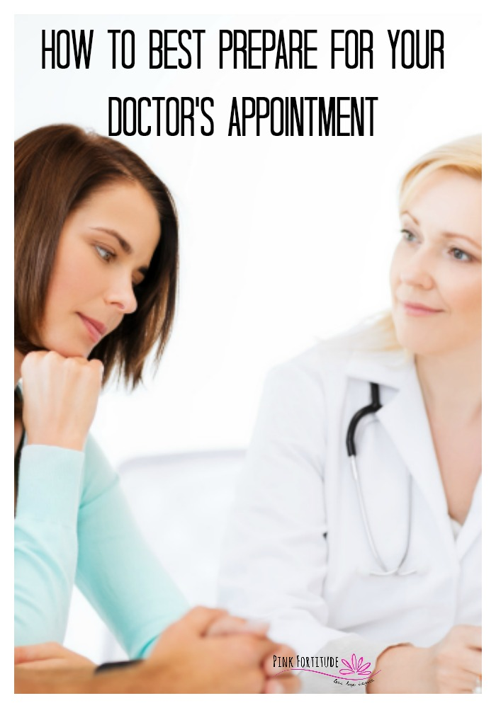 Whether you go to a traditional MD and have 7-10 minutes, or an alternative-style doctor and have an hour, it's best to be prepared to get the most out of your time. Read on to learn how to prepare for your doctor's appointment and also how to make the most out of your appointment.