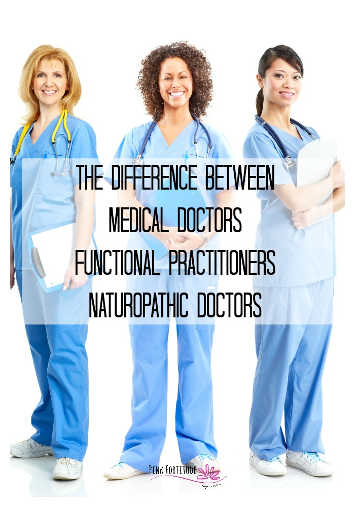 Navigating the various doctors and practitioners can be confusing. What do the different degrees mean? What are their qualifications? What is the best kind of doctor to treat my condition or chronic illness? We'll explore the differences between a Medical Doctor, Functional Practitioner, and Naturopathic Doctors. Learn the differences and determine which one is best for you!
