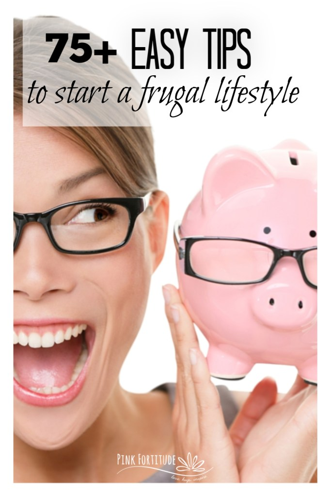 Being frugal is a mindset of not being wasteful. Whether you are trying to save money or be more sustainable, there are many reasons to live a frugal lifestyle. Here are 75+ easy tips to help you get started!
