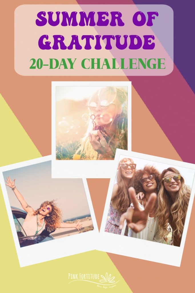 If you are like most people with health challenges, chances are you're already dreading summer.You already know that while summer should be full of making happy memories, the chaos of life makes it anything but.If that is you, then you are in luck. Join the Summer of Gratitude 20 Day Challenge.Give yourself a gift this summer.