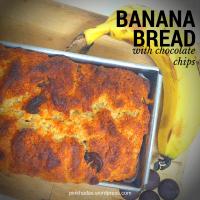 עוגת לחם צ'אנקי מאנקי: בננה ושוקולד צ'יפס