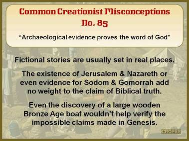 Archaeological evidence proves the word of God