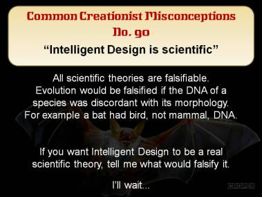 Intelligent Design is scientific