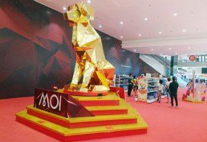 Nuansa Meriah Imlek di Mall of Indonesia