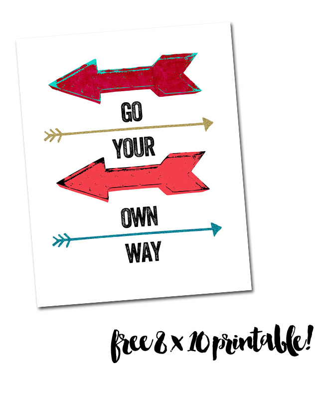 image relating to Printable Arrow titled Arrow Printable - Purple Lemonade Organization