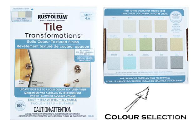 rust oleum tile transformations kit