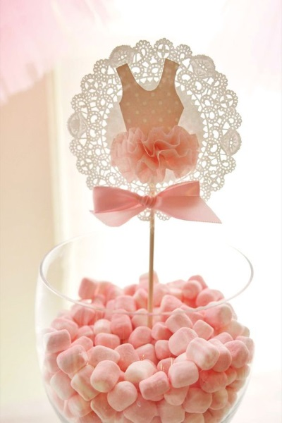 Ballerina Birthday Party Food Idea