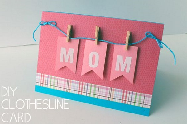 Handmade Diy Mothers Day Cards Pink Lover