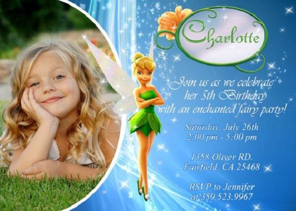 tinkerbell fairy birthday party theme