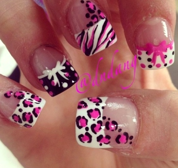 Cute Simple Nails French Tip Nail Designs Art Industriet