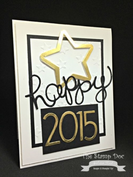 Handmade New Year Greeting Cards 2016 Pink Lover