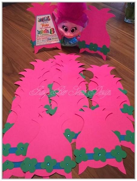 60 trolls birthday party ideas pink lover
