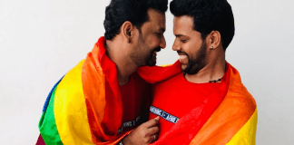 Kerala's first gay couple