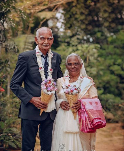 58 Years Later, This Couple Finally Gets A Wedding Photoshoot