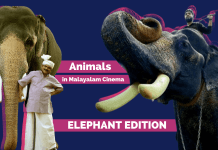 Animals in Malayalam Cinema Elephants