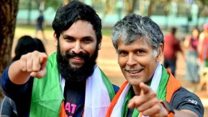 Aakash Nambiar and Milind Soman