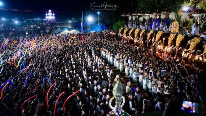 Festivals Celebrated in Thrissur