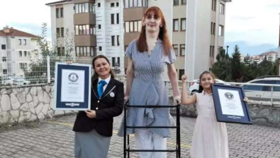 The World's Tallest Living Woman Is Just 24 Years Old
