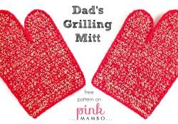 Dad's Crochet Grilling Mitt