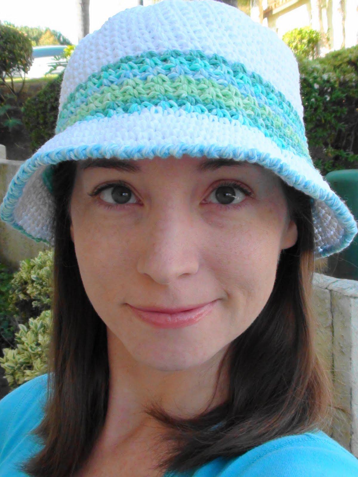 Crochet Summer Hats - 8 Free Patterns! - Pink Mambo