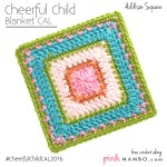 Cheerful Child Crochet Along Addison Square #12