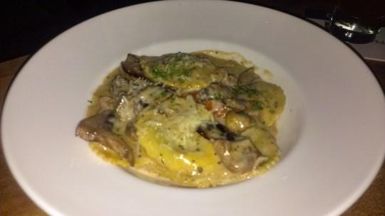 Chop Steakhouse mushroom risotto