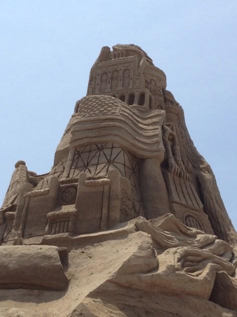 Ed Jarrett's Giant Sandcastle