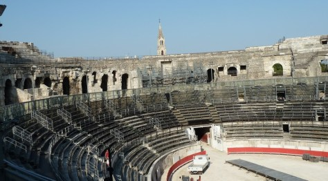 Roman Amphitheater in Nîmes
